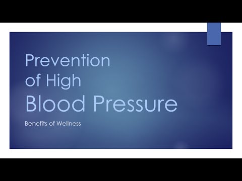 Prevention of High Blood Pressure - CURE AND CARE - BENEFITS OF WELLNESS