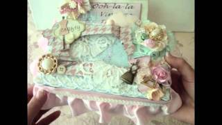 Vintage Sewing Machine Box - Ooh La La Design Team