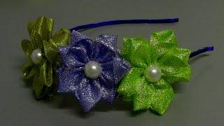 Laço de fitas de Organsa – How to make ribbon ties