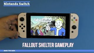 Nintendo Switch: Fallout Shelter Gameplay