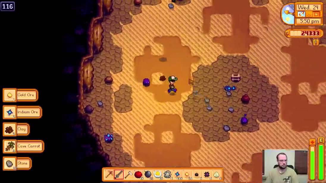 Stardew Valley Floor 134 Skull Dungeon 326 Iridium In 1