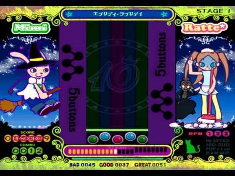Pop'n Music 10 — Gameplay  {NTSC J} {HD 1080p} {PS2}