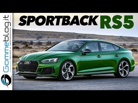 Audi RS5 Sportback - AWESOME INTERIOR Design and BEST Exterior Car Performance