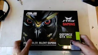 Обзор ASUS geforce gtx 950 strix