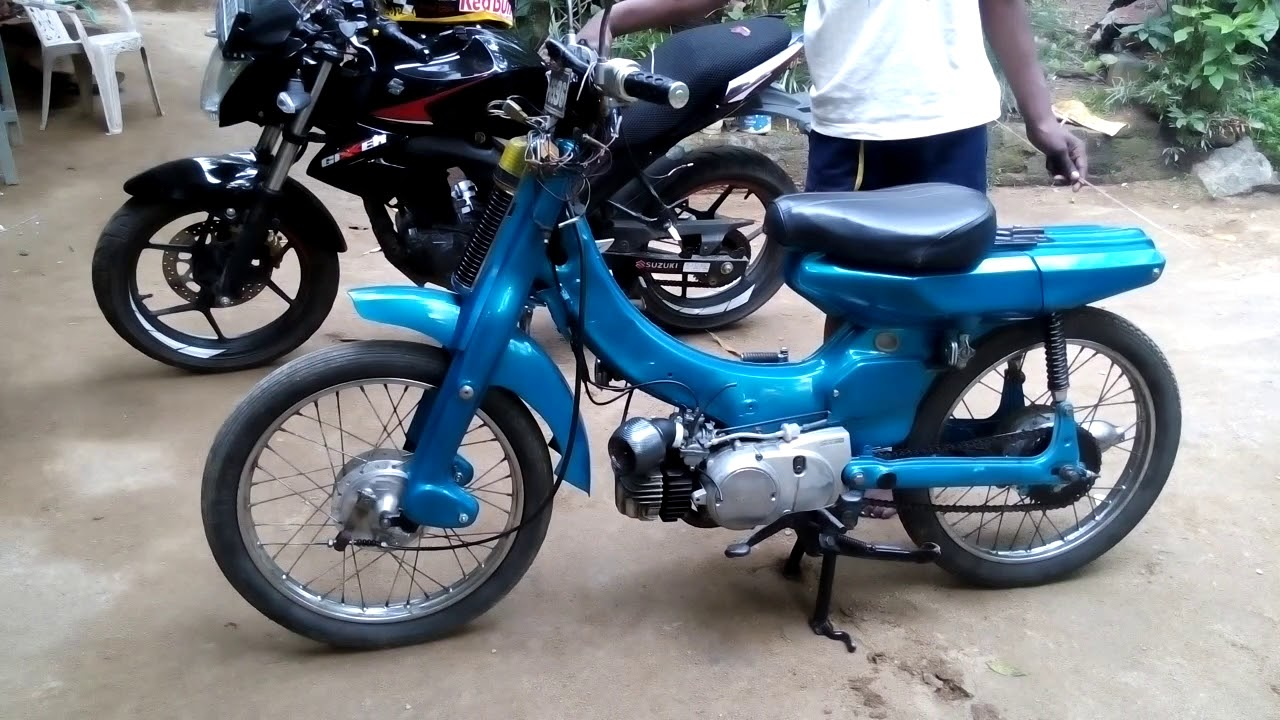Startup Yamaha Mate 50 Modified Srilnka