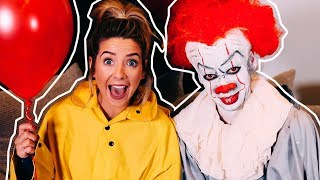 Turning My Brother Into Pennywise | Zoella thumbnail