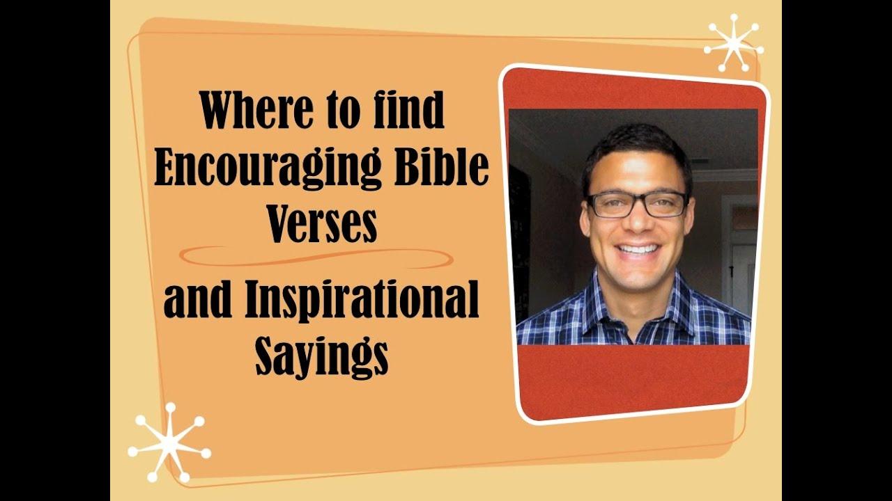Bible Verses For Encouragement 20 Great Scripture Quotes ...