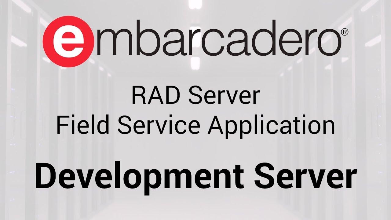 Field Service App REST API Client Server Template For