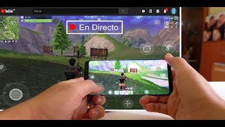 Transmitir pantalla de mi movil (celular) en vivo y directo, youtube, facebook, twich.