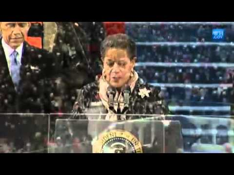Medgar Evers Widow Gives Inaugural Invocation