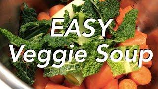 EASY Pressure Cooker Veggie Soup