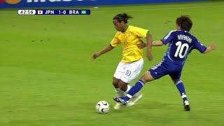 ロナウジーニョが日本代表を相手にするとこうなる!2006 W杯