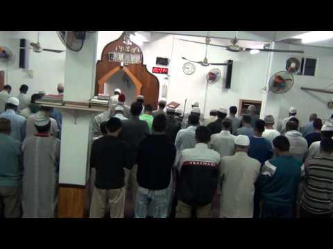 Taraaweeh prayers 1st night.