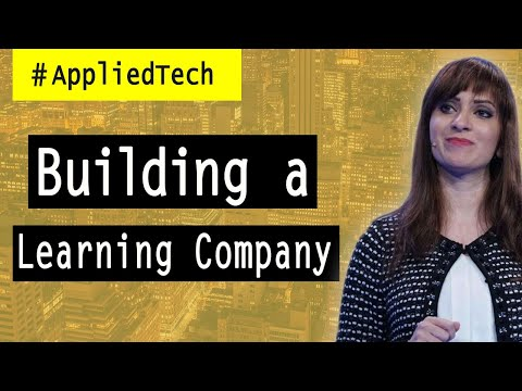 Learning How to Build a Learning Company l Elnaz Sarraf
