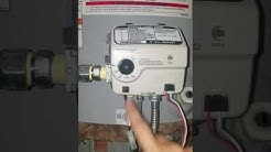 Whirlpool gas hot water tank pilot wont light *EASY FIX!!!*