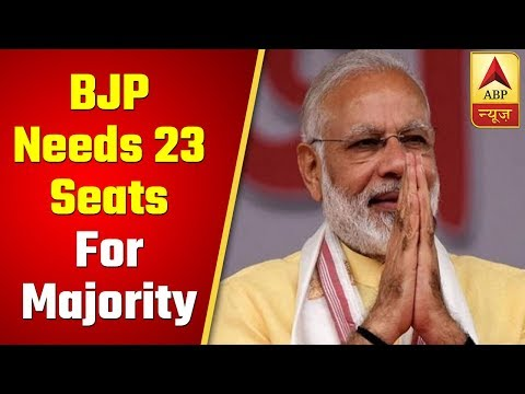2019 LS Election Results: Early Trend Shows BJP Needs 23 Seats For Majority | ABP News