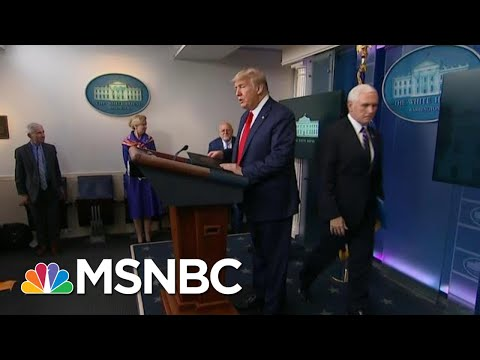 Trump To Announce Second Coronavirus Task Force To Focus On The Economy | Hallie Jackson | MSNBC
