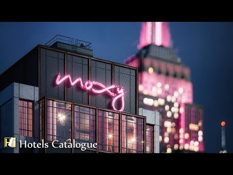 Moxy NYC Chelsea Hotel Overview - Stylish Hotels In New York