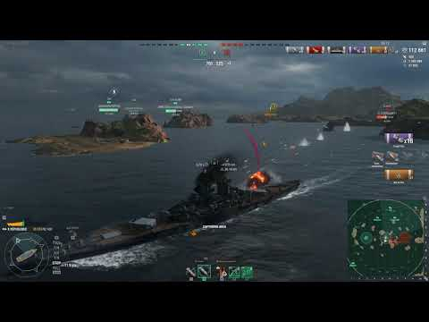 Fighting against 4 ships in B cap