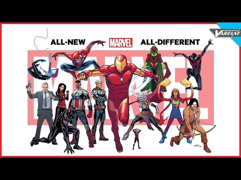 The All-New Marvel Universe!