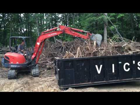 Grading & Stump Removal - Kubota Equipment