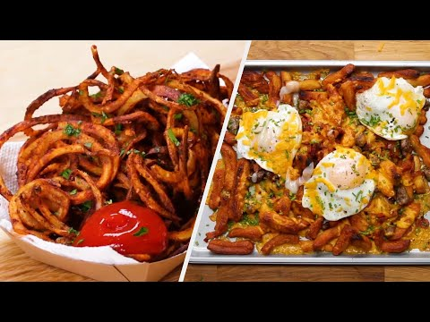 Fun & Tasty Fries Your Kids Will Love • Tasty Recipes