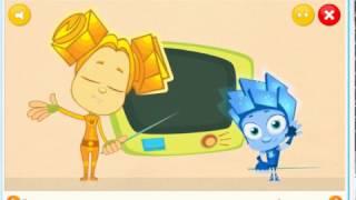 Игра Фиксики: Кабельный Салат. из мультиков. игры для девочек