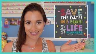 Erin Condren 2014-15 Life Planner Launch & Giveaway Thumbnail