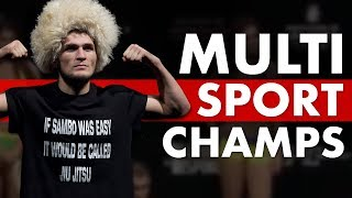 The Biggest Multi-Sport World Champions in MMA