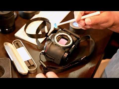 Nikon Z7 Z6 Cleaning  Sensor with Gel Stick (yes it's safe)