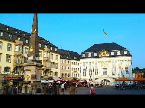 Bonn City of Beethoven, tour of inner city (2), former Bundestag and Rhine - ReiseWorld travel