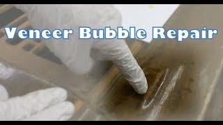 DIY Furniture Repair | Veneer Bubble Repair