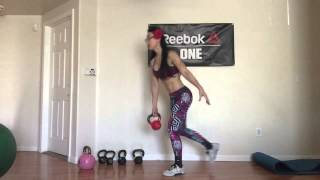 Kettlebell Bombshell Lower Body Workout