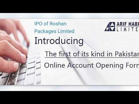 Roshan Packages Limited IPO Launch