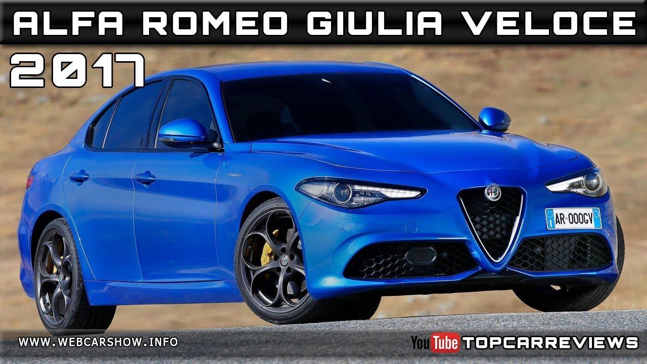 2017 ALFA ROMEO GIULIA VELOCE Review Rendered Price Specs