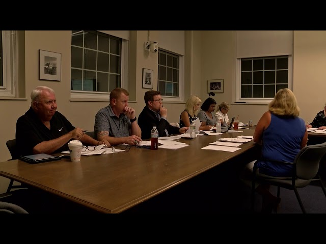 Chelmsford Finance Committee September 6, 2018