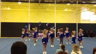 Buffalo panthers kitty Kats rockin Rochester cheer competit