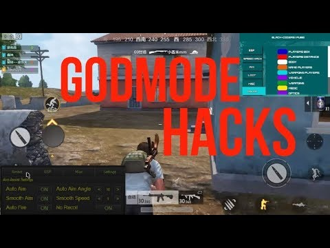 PUBG Mobile GODMODE HACKS | AIMBOT | WALLHACK | No Recoil FREEEEE