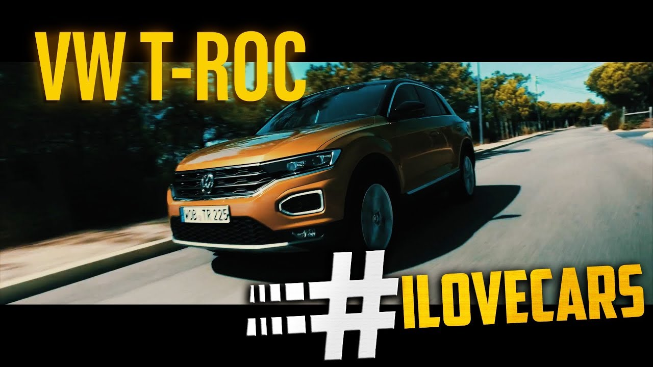 vw volkswagen t roc 2017 kompakt suv ilovecars youtube. Black Bedroom Furniture Sets. Home Design Ideas