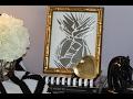 DIY Mirror Pineapple 🍍Mosaic Art
