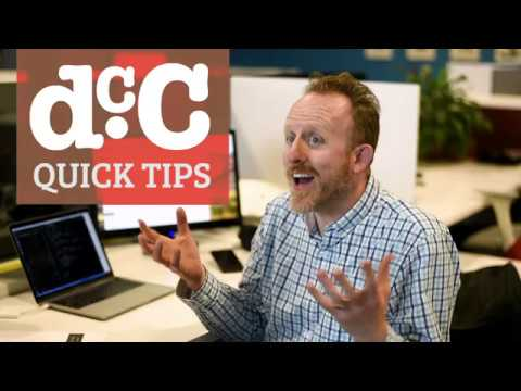 DCC - Quick Tips With Chris