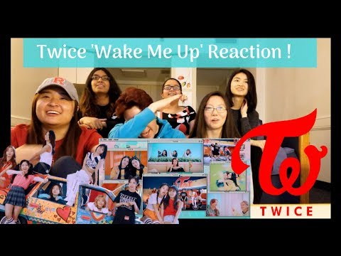 REACTING TO TWICE「Wake Me Up」Music Video