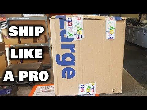 How To Ship Big Items On eBay (Ship Like A Pro)