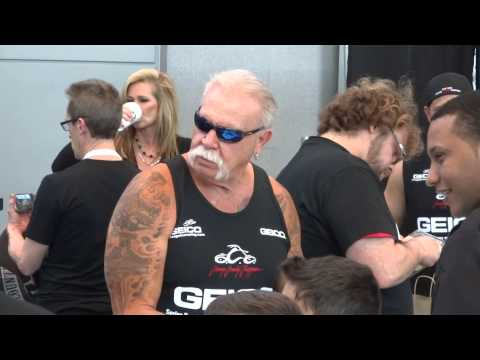 NYIAS 2015 - Motorcycles - American Chopper cast (The Teutul family) pt. 1 from YouTube · Duration:  1 minutes 20 seconds