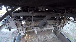 GoPro - Вимірювальна візок вагон-путеизмерителя / Measuring bogie of track measurement car