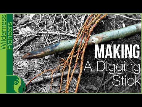 Primitive Skills - Making A Digging Stick