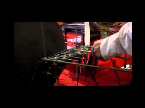 Exposició Instruments Baschet al Museu de la Música. L'Auditori Barcelona