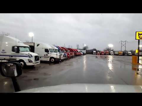 BigRigTravels LIVE! Terre Haute to Indianapolis, Indiana-Interstate 70 East-Jan. 22, 2018