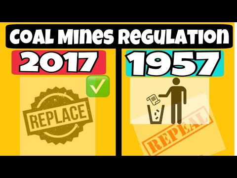 Coal Mines Regulation 2017 || CMR 1957 || Mining Videos || Cmr 2017