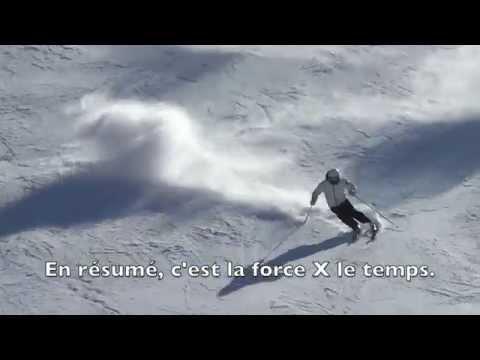 La physique, la technique et la biomécanique du ski alpin